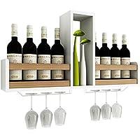 木製収納スタンドスタンドワインキャビネット壁掛け棚