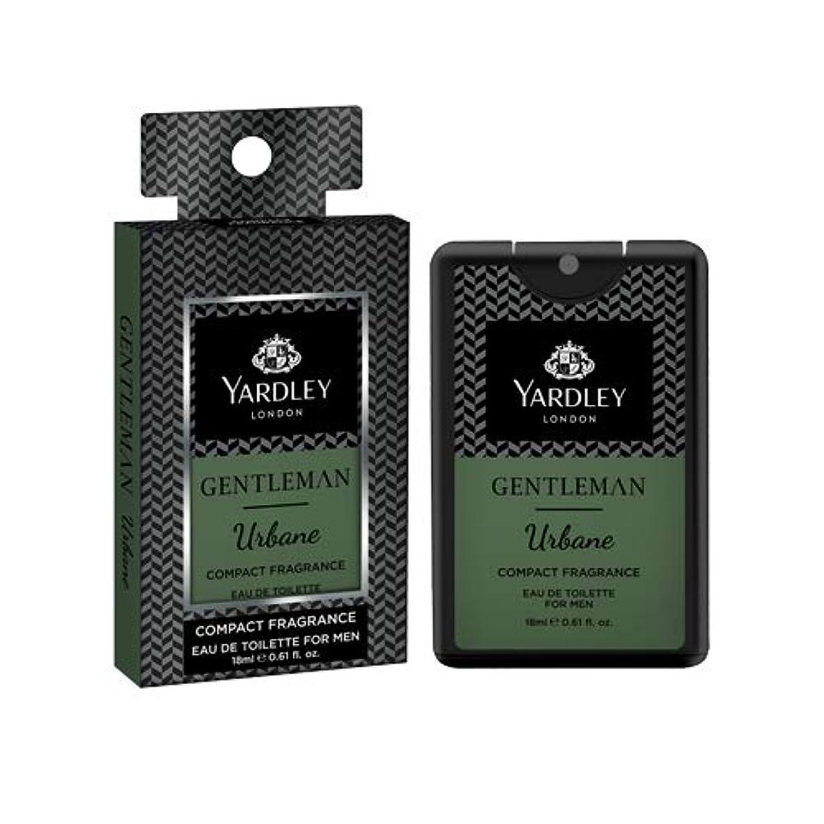 ギャンブルウォルターカニンガム練るYardley Gentleman Urbane Compact Perfume 18 ml