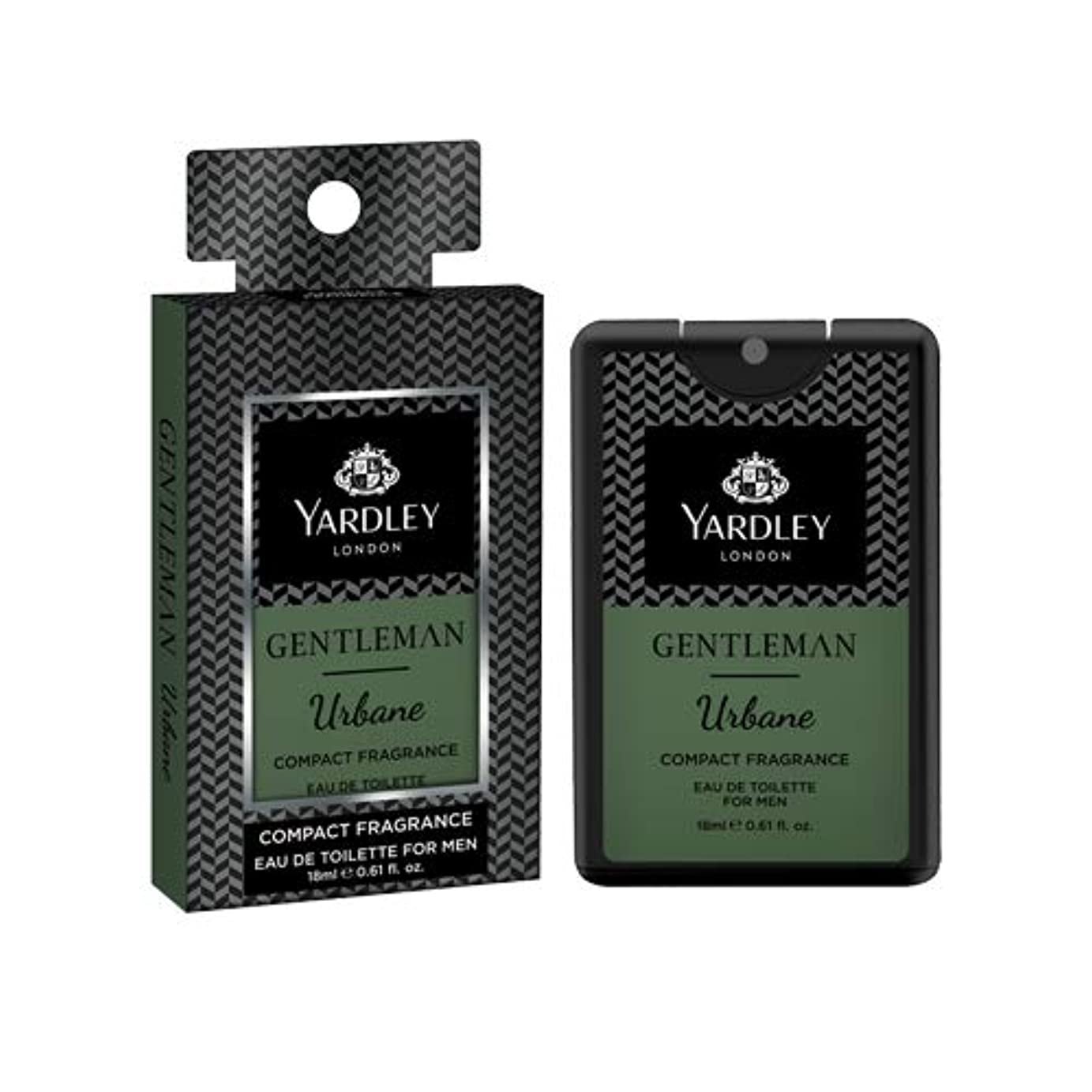 雄弁家自分申請中Yardley Gentleman Urbane Compact Perfume 18 ml