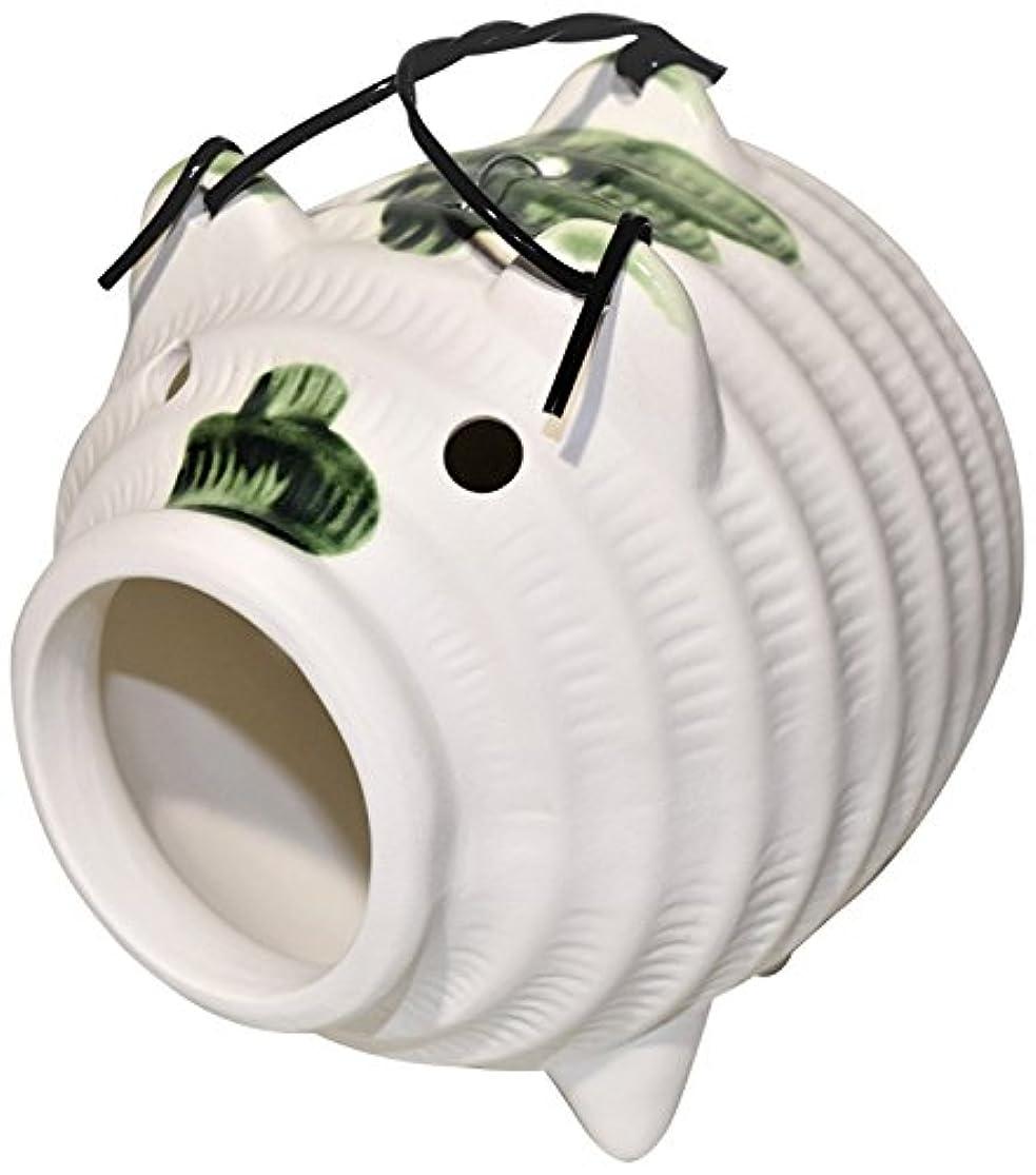 対応タイピスト耐久蚊取り豚 織部