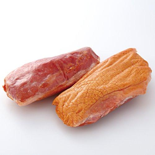 ラス [鴨冷燻] タイ産 チェリバレー種 鴨胸肉 燻製 (約200g)【グルメ大陸】