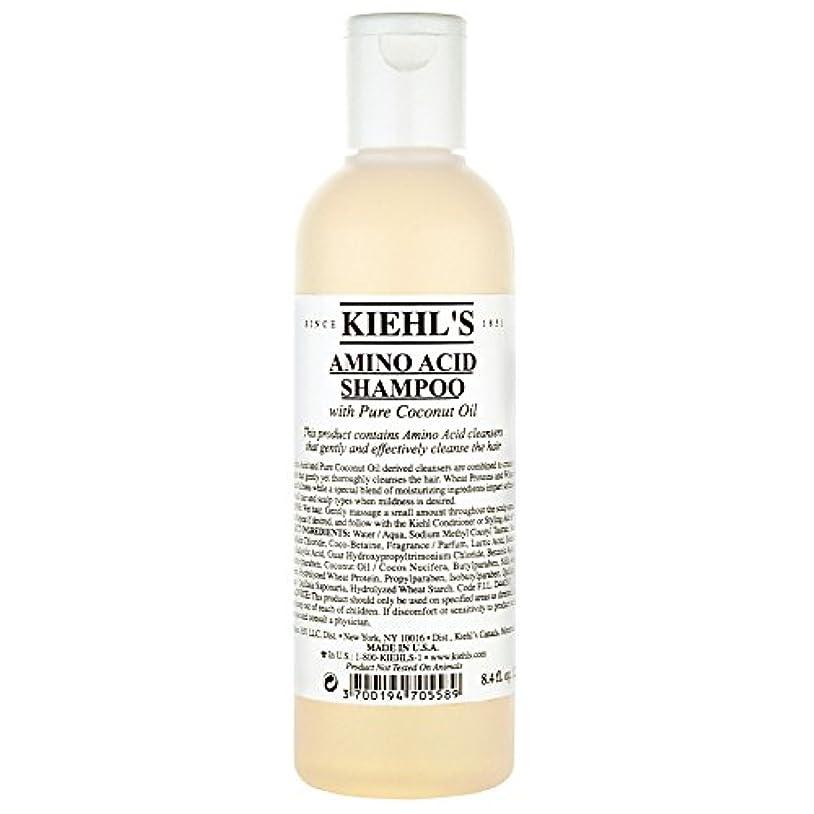寝るそれる孤独な[Kiehl's ] キールズアミノ酸シャンプー250Ml - Kiehl's Amino Acid Shampoo 250ml [並行輸入品]