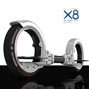Tauren Skatecycle X8の二輪クールスポーツ調節可能な折りたたみ式バランシングスクーター