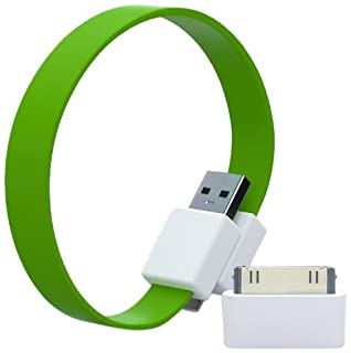 Mohzy Loop USB Cable with Apple Adapter - Fresh Lime (Green) 00053-11104 (B0071H8FGG) | Amazon price tracker / tracking, Amazon price history charts, Amazon price watches, Amazon price drop alerts