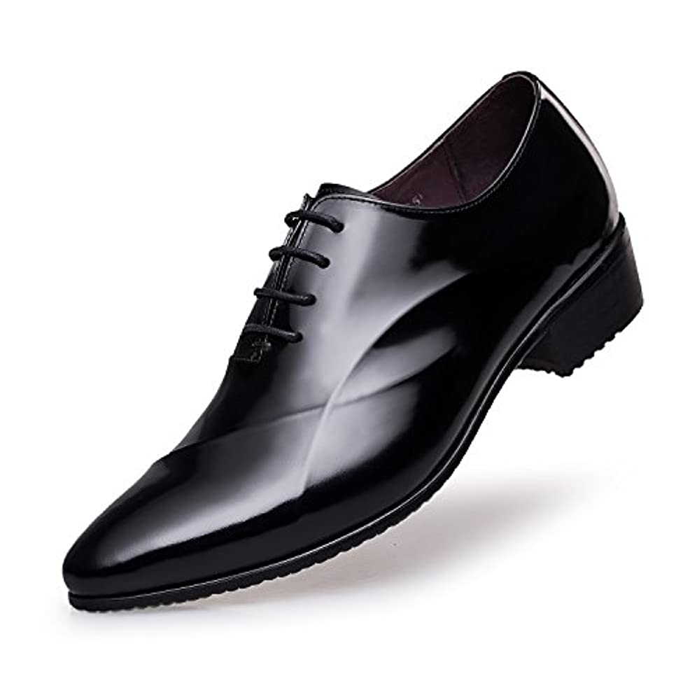 未来効能延ばす「ゼロ」ZROビジネスシューズ メンズ ロングノーズ 内羽 レースアップ スタイリッシュ 紳士靴 ドレスシューズ