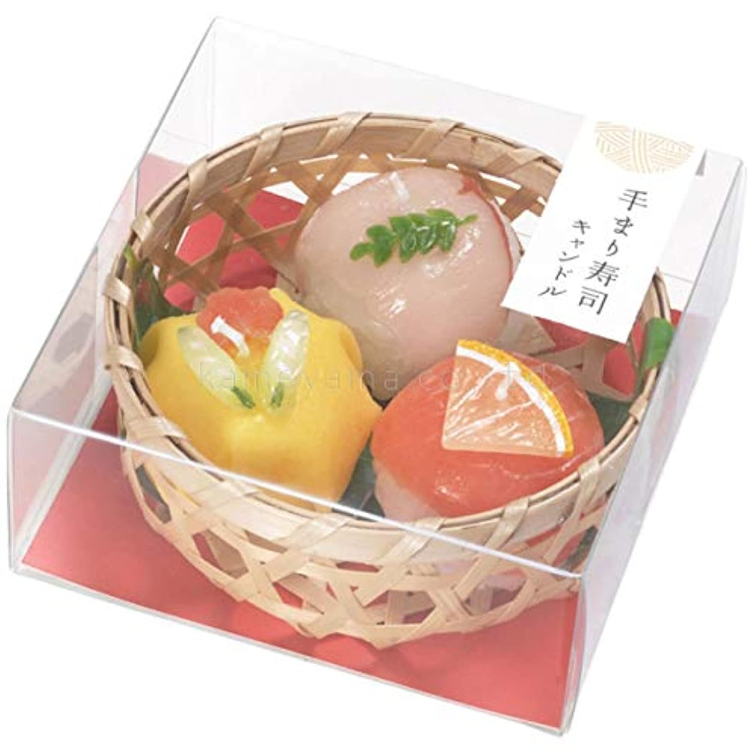 引退したタンク群集手まり寿司キャンドル (故人の好物シリーズ)