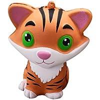 likero Squishy Tiger Squeeze Slow Risingクリーム香りつきDecor Fun Amazingおもちゃ
