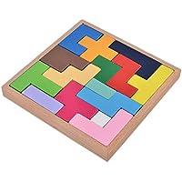 efaster子供教育おもちゃインテリジェンス木製学習知恵ブロッククリアランスクリエイティブDIYパズルToy 117.5*17.5*2.5C WL-20180410