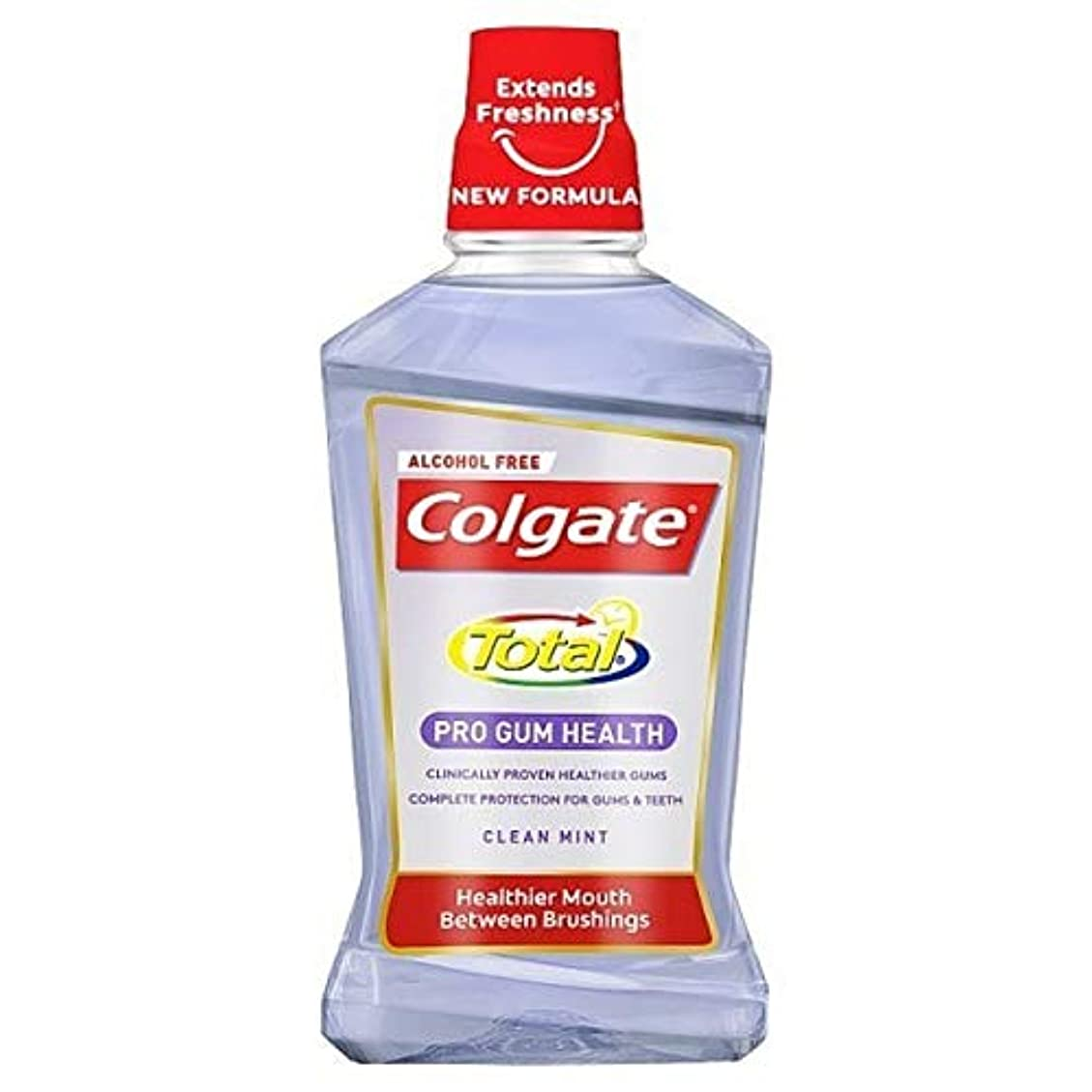 利点まつげ拘束する[Colgate ] コルゲートトータルプロガムの健康クリーンミントマウスウォッシュ500ミリリットル - Colgate Total Pro Gum Health Clean Mint Mouthwash 500ml...