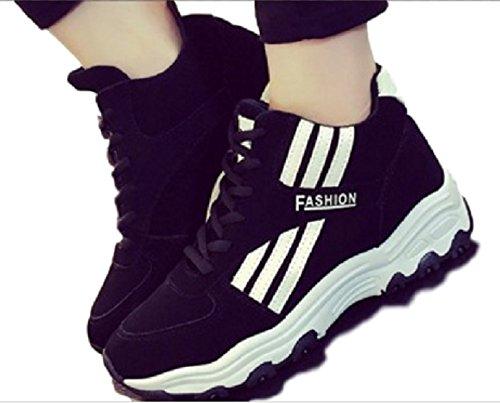 Meilleur reve(メイヤーリーブ) 足長 厚底 スニーカー 厚底靴 運動 靴 シークレット クツ カジュアル 美脚 韓国