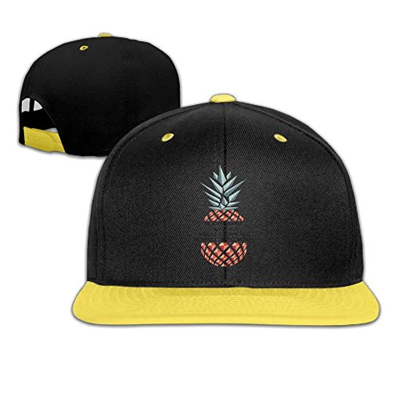 パイナップル かわいい ヒップホップ ハット スポーツ 野球帽 日焼け止め キャップ 子ども 帽子