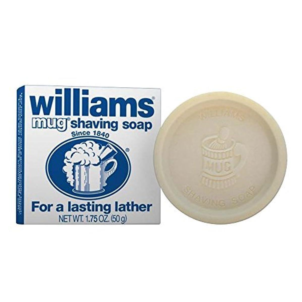 差別する容赦ない好意Williams Mug Shaving Soap Regular 1.75 oz (Pack of 12) [並行輸入品]