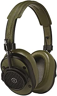 Master & Dynamic MH40 Greene St Edition Over-Ear, Wired Headphones with Genuine Lambskin Ear Pads, Black/O