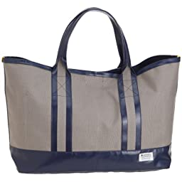 Massive Court Light Tote M: Gray / Navy