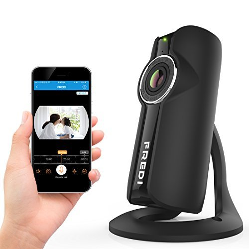 FREDI ベビーカメラ ワイヤレス ベビーモニター iOS / iPhone / Android 対応 遠隔監視・操作 1080P 接続簡...
