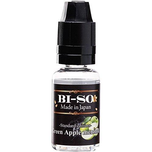 電子タバコ リキッド グリーンアップルメンソール 国産ブランドBI-SO Liquid 15ml