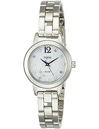 [ingene]アンジェーヌ 腕時計 ソーラー 日常生活用強化防水(5気圧) AHJD711 レディース