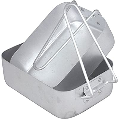 Mil-Com Mess Tin Set Camping Accessory One Size Silver