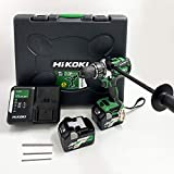 HiKOKI(ハイコーキ)旧日立工機 コードレス振動ドライバードリルDV18DBL2(2LXPK) デルタゴンビットセット3本セット