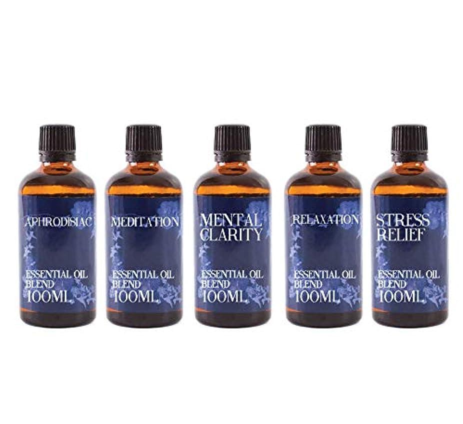 Mystix London | Gift Starter Pack of 5 x 100ml - Modern Day Remedies - Essential Oil Blends