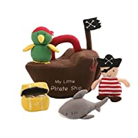 Gund Pirate Ship Baby Playset Plush [並行輸入品]