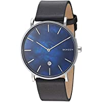 Skagen Men's SKW6471 Analog Quartz Black Watch