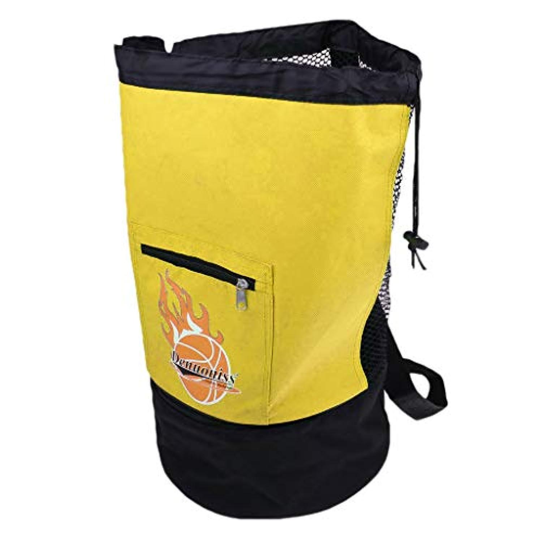 P Prettyia 携帯便利 使いやすい バスケットボール サッカーバレーボール用 ボールキャリーバッグ キャリアホルダー  全5色