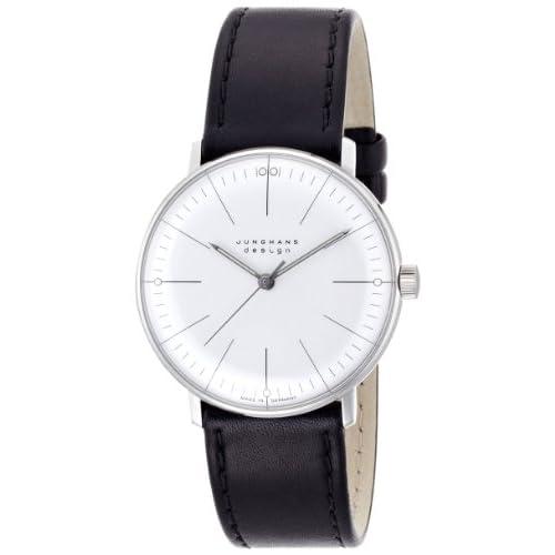[ユンハンス]JUNGHANS 腕時計 手巻き マックスビル オートマティック 027 3700 00 メンズ 【正規輸入品】