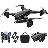 piberagi Drone with Camera 4K FPV RC Quadcopters Drones with Camera for Adults 2.4GHz Remote/Phone/APP Controlled HD Camera V