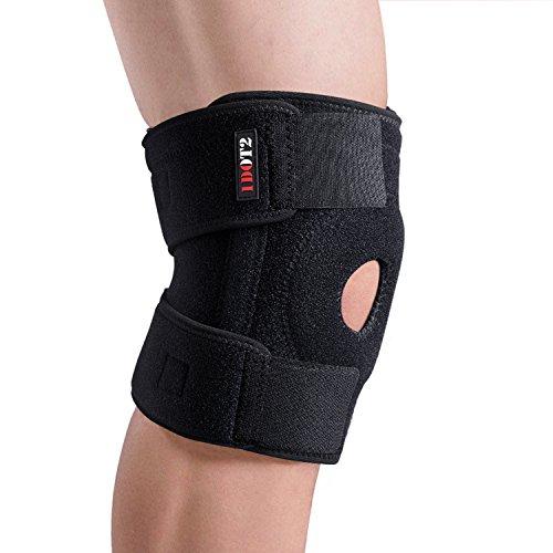 膝サポーター 膝固定/関節/靭帯 保護 怪我防止用 登山 ラ...