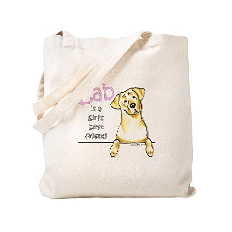 CafePress – Yellow Lab BF – ナチュラルキャンバストートバッグ、布ショッピングバッグ S ベージュ 0696603741DECC2