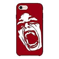 (カリーナ) Carine iPhoneXS 薄型 ブラック スマホケース スマホカバー sc683(D) 叫び顔 シャウト フェイス アイフォンXS スマートフォン スマートホン 携帯 ケース アイホンXS ハード プラ スマフォ カバー