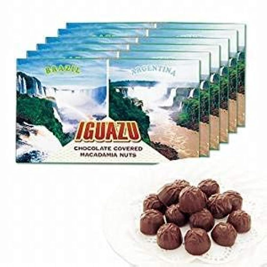 休戦首謀者発生器イグアスの滝 マカデミアナッツ チョコレート 6箱セット 【ブラジル 海外土産 輸入食品 スイーツ】
