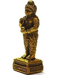 タイマジックジュエリーファッションAmulets Mini Kumaanthong Statue Petch Call for Money Magic Spiritラッキーリッチ