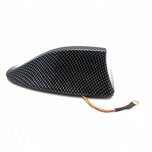 シャーク ドルフィン アンテナ 車 カスタマイズ 装飾 汎用 炭素繊維 ブラック