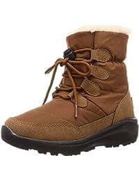 [オリエンタルトラフィック] 防寒 撥水 暖かい 軽量 スノーブーツ 防水 雪 雨 レイン レースアップ ブーツ レディース ボア 大きいサイズ 小さいサイズ