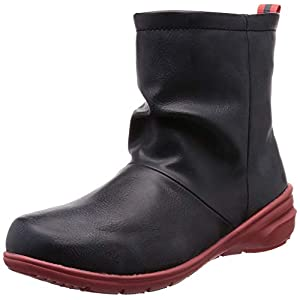 [ムーンスター] ブーツ 防水 防滑 軽量 レイン レディース RPL003 ブラック 23 cm 2E