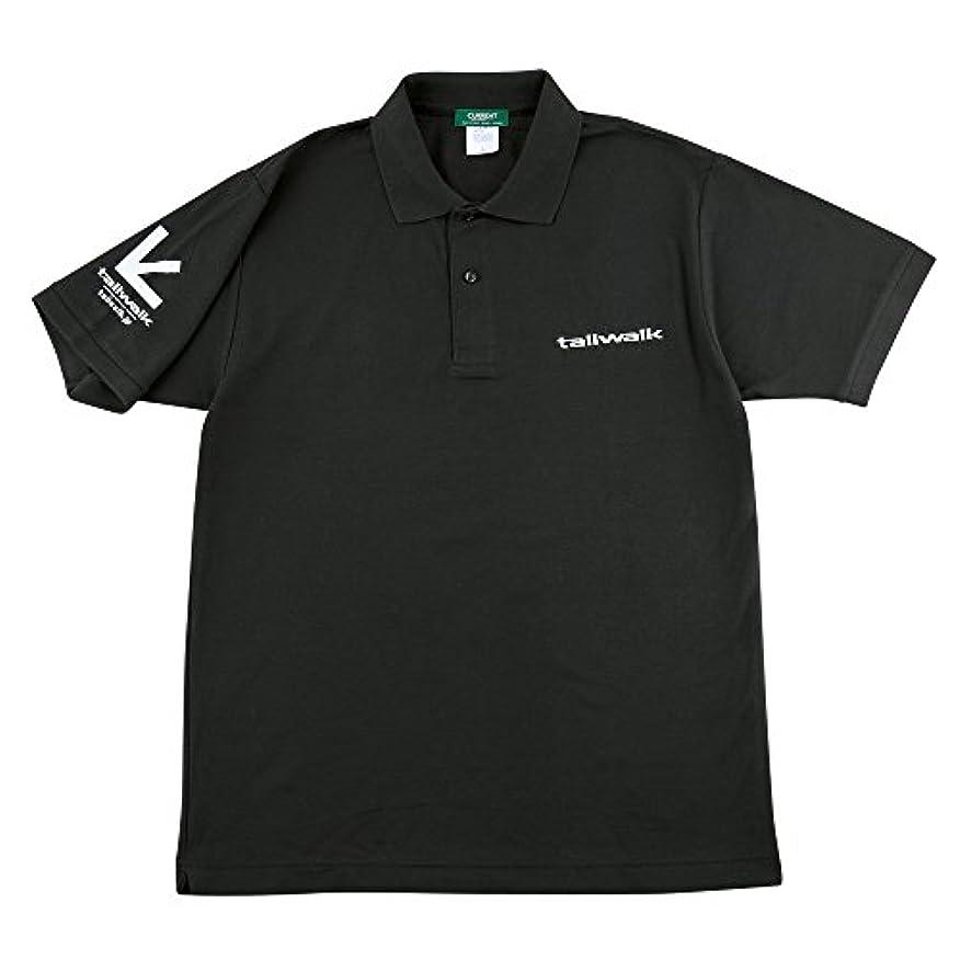 闇マキシム無条件テイルウォーク(tailwalk) ドライポロシャツ 13532 ブラック LL