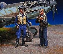 アンドレアミニチュアズ SW-09 German pilots at rest III