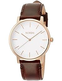 [ニクソン]NIXON 腕時計 Porter Leather Rose Gold / Brown NA10582524-00  【正規輸入品】