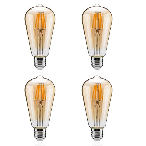 LED電球 60W形相当 エジソン電球 E26口金 8W l...