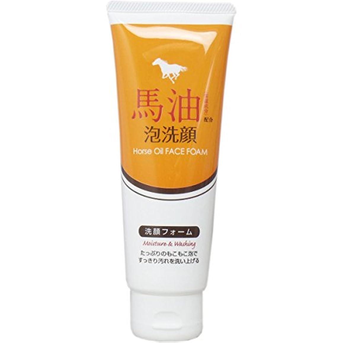 外観レザー再生可能馬油配合泡洗顔 洗顔フォーム 130g