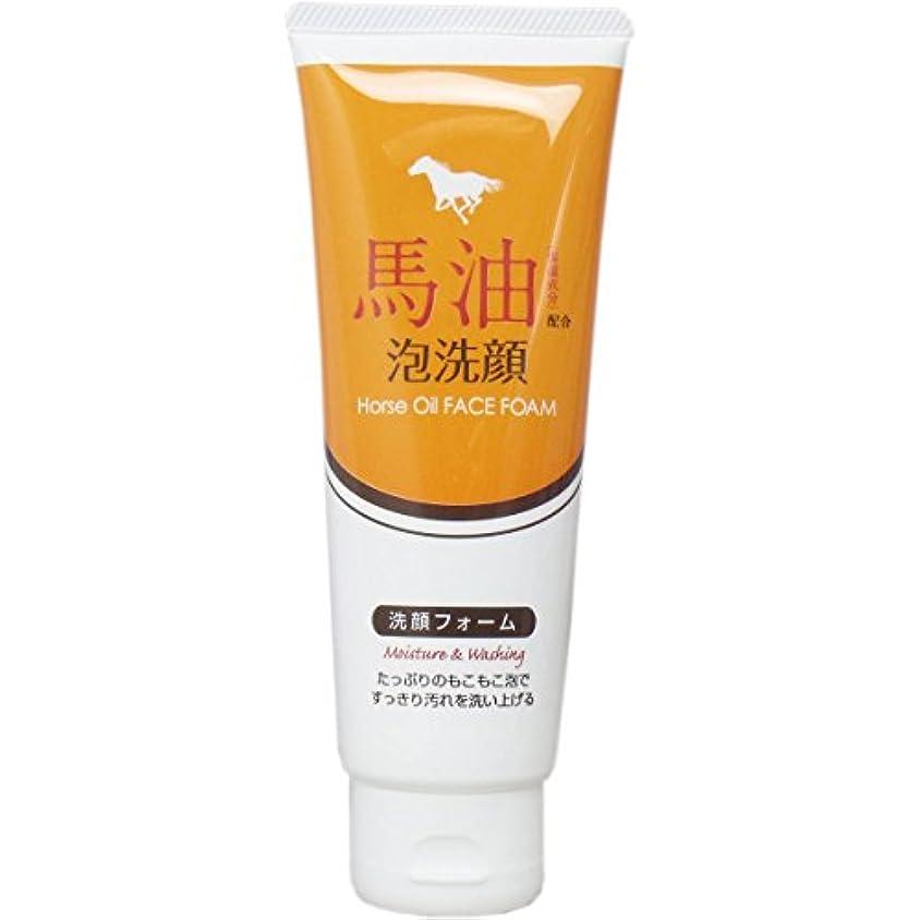 赤道異なる脱走馬油配合泡洗顔 洗顔フォーム 130g