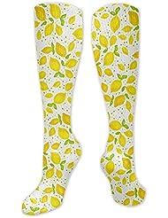 靴下,ストッキング,野生のジョーカー,実際,秋の本質,冬必須,サマーウェア&RBXAA Little Lemons Socks Women's Winter Cotton Long Tube Socks Cotton Solid...