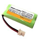 【大容量 通話時間UP】SHARP シャープ コードレスホン 子機用 充電池 【M-003/UBATM0030AFZZ】 互換 【ロワジャパン】