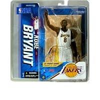 Kobe Bryant Special Edition 22 Jan 2006 81 Point Game White Uniform Los Angeles Lakers McFarlane NBA Series 11 Action Figure by McFarlane [並行輸入品]