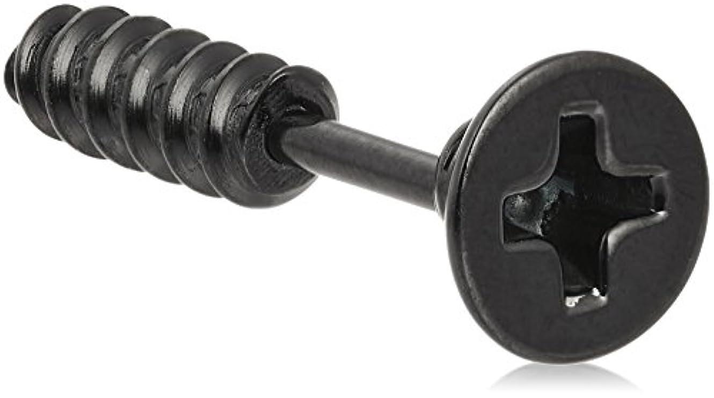 可能にするローブピグマリオン(ローター) ROTAR ネジピアス スモール as1639107ck FREE ブラック
