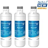 Waterdrop LT1000P Refrigerator Water Filter, Compatible with LG LT1000P, LT1000PC, MDJ64844601, ADQ74793501, ADQ74793502, Kenmore 46-9980, 9980, 3 Pack