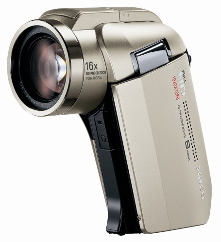 SANYO フルハイビジョン デジタルムービーカメラ Xacti (ザクティ) DMX-HD2000 シャンパン・ゴールド DMX-HD2000(N)