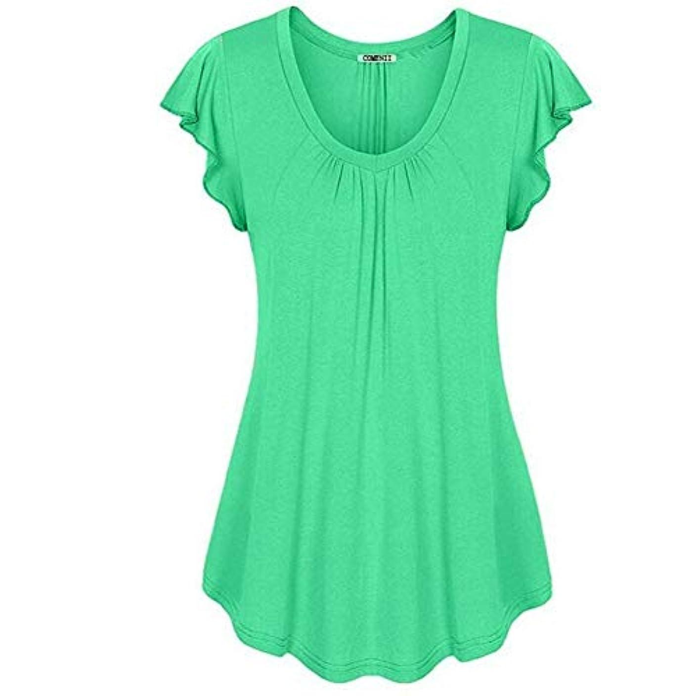 正当な通知忌み嫌うMIFAN の女性のドレスカジュアルな不規則なドレスルースサマービーチTシャツドレス